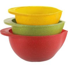 Home Presence by Trudeau 3-Piece Mixing Bowl Set