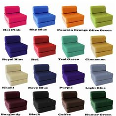 Incroyable Folding Chair Lounger Guest Bed Flip Out Sleeper Dorm Couch Game ASSORTED  Color | House | Pinterest | Folding Chairs, Dorm And Meditation Space