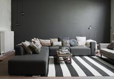Home with shades of black - COCO LAPINE DESIGN