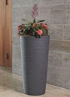 Für den Innen- und Außenbereich -  Garantia NATURA Pflanzbehälter, Graphite, 150 cm