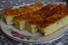 Cuketový koláč slaný