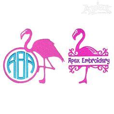 Flamingo Embroidery Frame