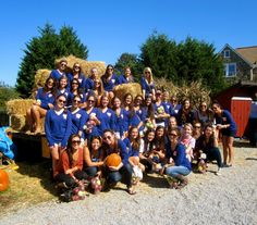 Apple Picking Sisterhood Event 2011!