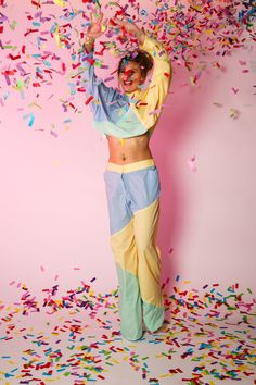 TOPSHOP shoot, designed and styled by Sam O'Sullivan