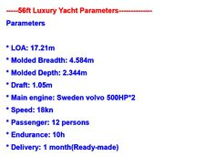 Let us build a Luxury Yacht for you any size, we also build and supply Patrol boats for Military, Police, Coast Guard, fishing boats, high speed boats, jet ski's, house boats, cargo ships, drill ships, barges, and supply all Marine supplies and Equipment.