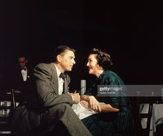 American actor Ronald Reagan and his wife Nancy Reagan gaze at one another across a table, circa (Photo by Hulton Archive/Getty Images) American Presidents, Us Presidents, American Actors, American History, Nancy Reagan, President Ronald Reagan, Sean Hannity, In Hollywood, Celebrity Photos