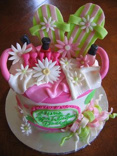 Spa Party Cake  Flickr Photo Sharing