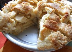 The best Apple Pie recipe I've come across so far. Apple pie with pour over crust by Grandma Ople. Low Carb Dessert, Pie Dessert, Dessert Recipes, Best Apple Pie, Apple Pies, Tandoori Masala, Apple Pie Recipes, Sweet Recipes, Quiches