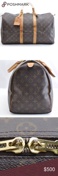Louis Vuitton Keepall 45 Boston Bag Great condition!  AUTHENTIC.  Monogram Canvas.  INCLUDES Padlock and Key.  Please note shipping may be slightly delayed due to my travel schedule.  Will ship ASAP! Louis Vuitton Bags Travel Bags