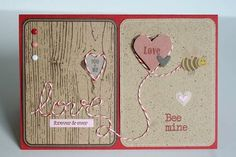 Card by Carole Maurin Valentine Day Love, Valentine Cards, Happy Hearts Day, Interactive Cards, Card Tricks, Shaker Cards, Watercolor Cards, Love Cards, Scrapbook Pages