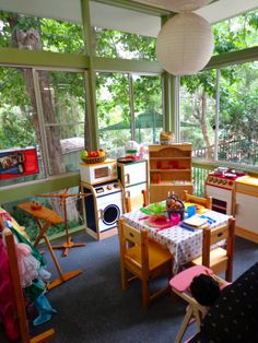 home preschool | time at home during the school holidays the home corner was the first ...