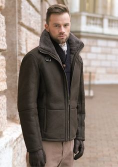 Christ-Leather ~ Shearling Coat | Stylez | Pinterest | Coats and ...