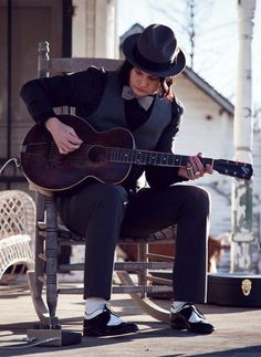 Musical genius. Beyond his time. The one and only, Jack White.