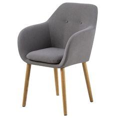 Stuhl für Ihr modernes Wohnambiente - Ästhetik in hellem Grau