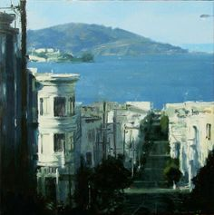 ben aronson, Angel Island From Mason St, 2007