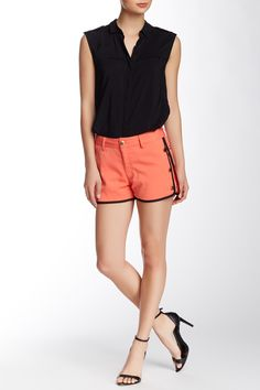 Button Detail Short by Lavand on @HauteLook