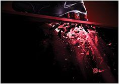 e4b1b5b54f6a32 Outdoor ad  Nike Shox  Red Agenzia Di Pubblicità