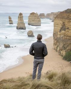 On a quick turn around trip to Australia I got to see at least a few of the sights on my Aussie bucket list.  This is one of them.  The 12 apostles on the Great Ocean Road Victoria Australia. by buzzb
