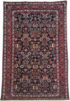 Veramin 'Carpet', Central Persia, circa 1910, wool/cotton, approx. 337 x 215 cm