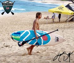 #KainoaTeixeira competing in #Hawaii  #mistralsup #sup