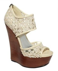 """lace"" wedge"