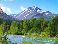 Komi republic nature view