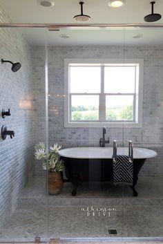 This master bathroom