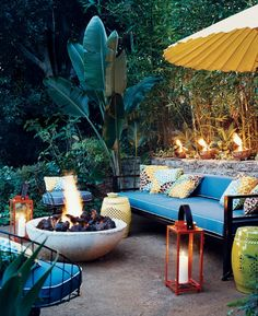 Everything about this patio is fab.