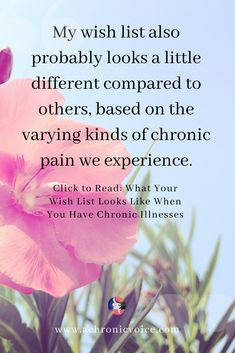 Due to chronic illness my wish list has evolved to include pain relieving products. Chronic Fatigue, Chronic Illness, Chronic Pain, Fibromyalgia, Mental Illness, Health And Wellness, Health Blogs, Mental Health Problems, Human Connection