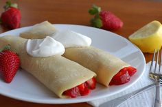 Strawberry Crepes - What's Cooking with Jim