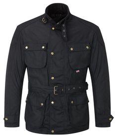Pulford® Waxed Cotton Motorcycle Jacket Black - £149.00 : Speedwear Ltd, Wax Jackets, Motorcycle Gloves, Davida Helmets, Cafe Racer, Silk Scarves