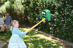 I have to make this for George! John Deere Party, Outdoor Power Equipment, Birthday, How To Make, Birthdays, Garden Tools, Dirt Bike Birthday, Birth Day