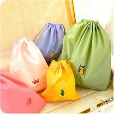 New Waterproof PE Travel Storage Bag Colorful Cartoon Travel Storage Bag - buy on coolaliexpress