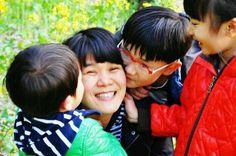 보석보다 더 귀한 세명의 자녀랍니다. #카카오톡 이정순님