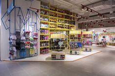 Retail Design | Store Interiors | Shop Design | Visual Merchandising | Paris Kids department by Dalziel and Pow, Santiago   Chile store design