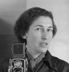"""German photographer Gisèle Freund was an early pioneer of colour photography, which she considered to be """"closer to life"""". The subjects of her colour portraits included James Joyce, Simone de Beauvoir and Frida Kahlo, as well as Virginia History Of Photography, Documentary Photography, Vintage Photography, White Photography, Photographer Self Portrait, Photo Portrait, Girls With Cameras, Berenice Abbott, Robert Frank"""