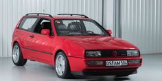 The Only Two Volkswagen Corrado Shooting Brakes Ever Made Are for Sale