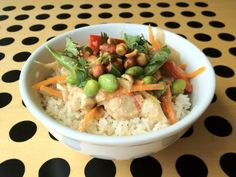 Our Thai Chicken Curry served at the Brooks Headquarters makes for a rewarding and delicious meal.