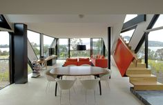 Mona Pavilions, Hobart, Tasmania. Rated 9.6