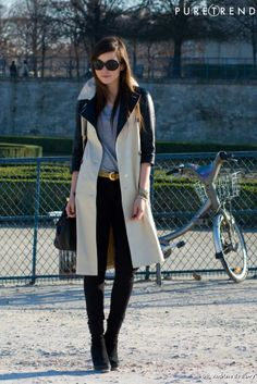 Fashion week,Paris street style
