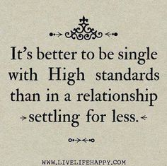 It's better to be single.....