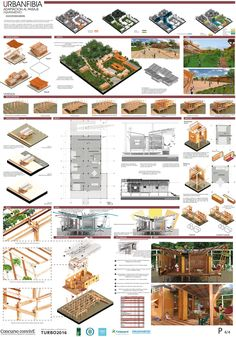 If you live in a dry and arid climate then your desert landscaping is going to take a little more planning than some other parts of the country. desert landscaping will have to work with a plan that includes only plants and trees that Concept Board Architecture, Architecture Presentation Board, Architecture Panel, Architecture Portfolio, Futuristic Architecture, Landscape Architecture, Landscape Design, Project Presentation, Presentation Layout