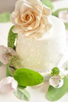 Cake for a Parisian Elopement
