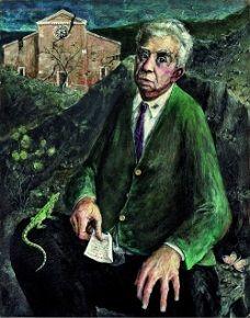 Eugenio Montale (12 oktober 1896 - 12 september 1981) Portret door Galeazzo Viganò