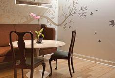 Love that painted wall Leyden Lewis Design Studio | 3249 whisper lane