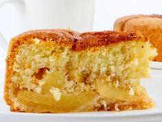 Ronde appelcake met 2 appels uit SOS Piet