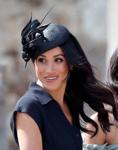 Meghan Duchess of Sussex attends the wedding of Charlie van Straubenzee and Daisy Jenks at the church of St Mary the Virgin on August 4 2018 in. Meghan Markle Dad, Estilo Meghan Markle, Meghan Markle Stil, Star Wars, Paparazzi Photos, Fashion Mode, Chicano, Style Icons, Riding Helmets