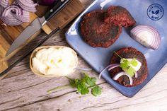 Heerlijke stevige vegan hamburgers zonder soja of peulvruchten. Als je een proteïnebron wilt toevoegen, raad ik je hennepeiwitten aan. Van alle plantaardige eiwitten hebben deze het beste aminozuurprofiel. Hamburgers, Vegan, Lifestyle, Breakfast, How To Make, Food, Morning Coffee, Hamburger, Meals