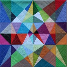 art moderne quilt pattern | Featured Artist: Susan Wessels | Polly Castor