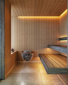 Sauna Luxure on Behance Basement Sauna, Sauna Room, Outdoor Sauna, Jacuzzi Outdoor, Home Spa Room, Spa Rooms, Relaxation Room, Relax Room, Scandinavian Saunas